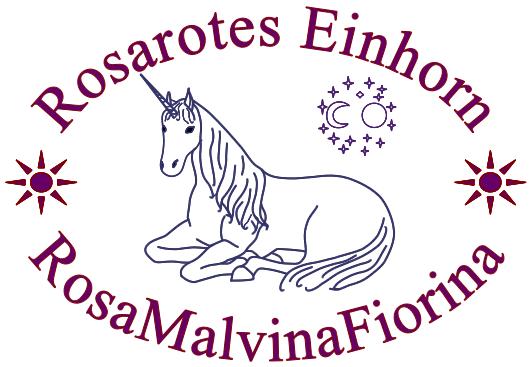 Rosarotes Einhorn - Rosa Malvina Fiorina